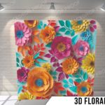 3d floral G pillow update