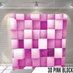 3d pink block pillow G - Copy