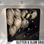 Glitter and glam grad pillow G