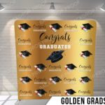Golden grads pillow G