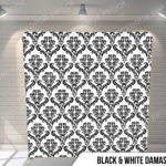 Pillow_BWDamask_G