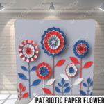 Pillow_PatrioticPaperFlowers_G