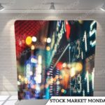 Stock Market monday pillow G