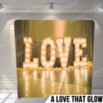 a love that glows pillow g