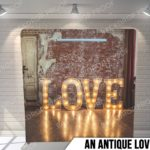 an antique love pillow g