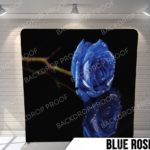blue rose pillow G