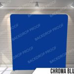 chroma blue pillow G