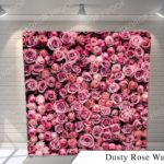 dusty rose G pillow