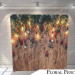 floral fence pillow G