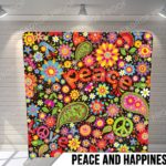 peace and happiness pillow g