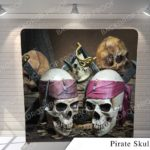pirate skulls G pillow