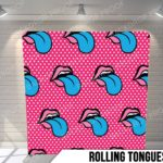 rolling tongues pillow g