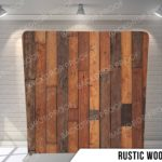 rustic wood pillow G