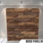 wood paneling pillow G