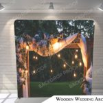 wooden wedding arch pillow G